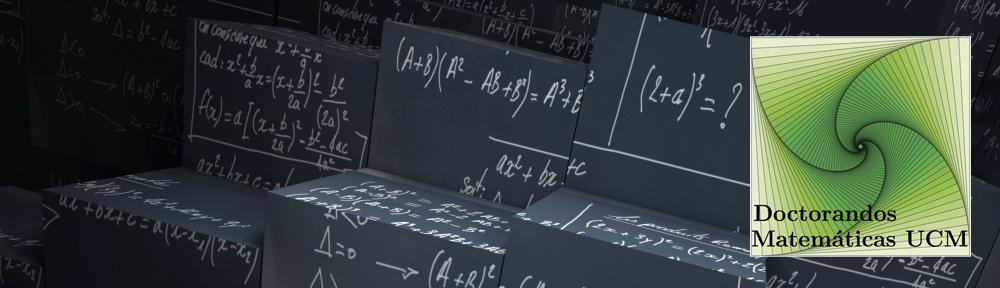 Doctorandos Matemáticas UCM