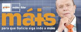 Fotografía del cartel electoral de 2005 de Fraga